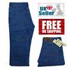 New Mens Straight Leg Basic Heavy Jeans Pants All Waist Big Sizes UK Seller