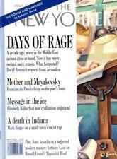 NEW YORKER MAGAZINE 7 JAN 2002, THE KORAN AND MARRIAGE, MOTHER AND MAYAKOVSKY,