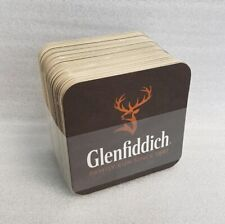 Pack of 50 Glenfiddich Scotch whisky  Beer Mats / Drip Mats - New
