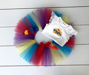 The Wiggles Cake Smash Outfit - 3 Piece First Birthday Tutu Set - Baby Girl