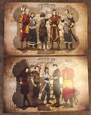The Legend Of Korra OLD / NEW FRIENDS SDCC 2012 Exclusive Poster Set