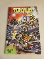 Teenage Mutant Ninja Turtles New Animated Vol. One IDW Softcover