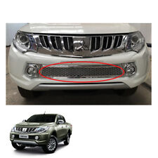 Mitsubishi Pickup L200 Triton 2015 2016 2017 fit Front Lower Grill Grille Chrome