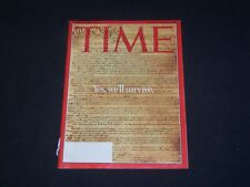 2000 DECEMBER 18 TIME MAGAZINE - YES, WE'LL SURVIVE - T 3086
