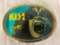 Vtg Kiss 1977 Pacifica Gene Simmons Belt Buckle
