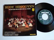 "RUDY HIRIGOYEN : Saintes-Maries-de-la-mer 7"" 45T PHILIPS 437.454 BE Paul Bonneau"