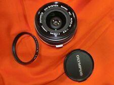 Olympus Lens S ZUIKO AUTO-W 28 mm 1:2 .8 NO. 129624 OM system