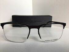 New PORSCHE DESIGN P8277 P 8277 D 54mm Rx Black Clubmaster Eyeglasses Frame