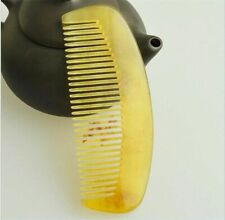 Natural Amber Ox Horn Hair Comb No Static For Health Care Grooming