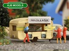 BNIB N GAUGE VOLLMER 47620 SMALL CARAVAN FOOD & DRINKS TRAILER KIT