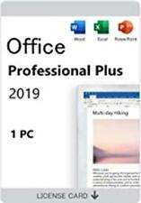 Microsoft Office professional Plus 2019 Download Link For Windows(1PC/1User)