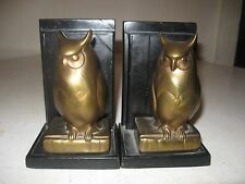Beautiful Owl Bookends FRANKART, INC. a Fresh Picked Estate Find 12-3-16