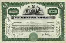 West Indies Sugar Corp 1957 Homestead Florida Repubblica Dominicana 100 shares