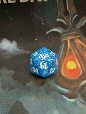 Magic 2012 M12 Blue Spindown Lifecounter Die d20 MAGIC MTG