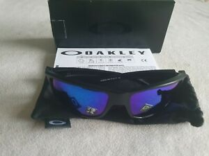 Oakley Gibston polarized Prizm mirror sunglasses. OO9449-1260. Matte black. New.