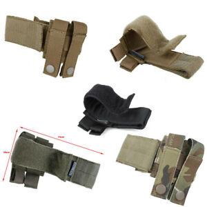 TMC3263 Tactical Vest Belt Catch Molle Hook Loop Wrap Fastener Fixed Strap RG BK