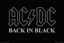 AC/DC - BACK IN BLACK POSTER - 24x36 MUSIC 241334
