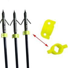 10pcs Plastic Bowfishing Safe Slider for Arrow Shaft Outer Diameter 8mm