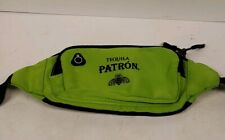 Lime Green Patron Tequila Fanny Pack With Logo