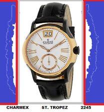 RARE Charmex St. Tropez Mens Quartz Watch 2245 APPROXIMATELY 60%OFF MFSRP $1495