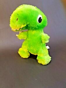 Dan Dee Collector's Choice Green Dinasour Toothy Stuffed Push Toy Kid's Gift