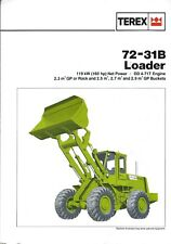 Equipment Brochure - Terex - 72-31B - Wheel Loader (E4499)