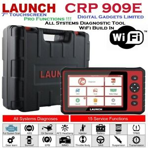 """Launch CRP909E All System Diagnostic Computer Full System 7"""" Touchscreen, WiFi"""