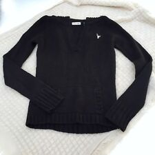 Energie Sailor Collar Sweater - Black (Size Small)
