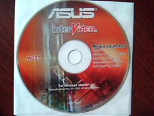 Driver Support CD ASUS interVideo Media Launcher M857 OEM MediaOne WinDVD