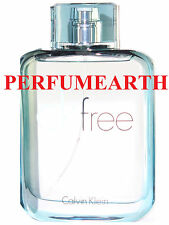 CK FREE UNBOX 3.3 / 3.4 OZ EDT SPRAY FOR MEN BY CALVIN KLEIN