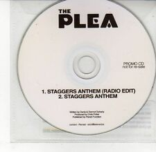 (DV630) The Plea, Staggers Anthem - 2012 DJ CD