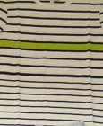 filles MARKS & SPENCER M&S Indigo T-shirt haut imprimé rayures 5-14 ans coton