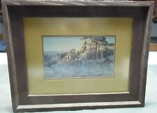 Watching for Wagons by Charles M Russell Western Framed Art Print