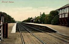 Silecroft Railway Station in Illingworth's Series, Millom.