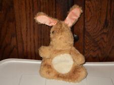Fisher-Price Huggable Puppet #163 Hoppie Bunny 1981