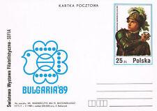 Polska Poland 1989 Fi cp  995 Światowa WF Bułgaria 89
