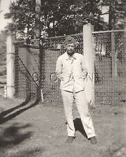 WWII German Navy RP- Kriegsmarine- Sailor- Training Uniform- Hat- Fence- May 42