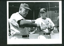 Casey Stengel The Sporting News 1964 Wire Photo Mets Johnny Keane Cardinals