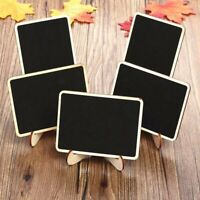 10/20X Mini Wooden Blackboard Wedding Party Chalkboard Sign Message Table Stand