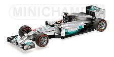 MINICHAMPS 110 140144 MERCEDES F1 modelcar L HAMILTON win Malaysian GP 2014 1:18