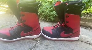 Nike snowboard boots Red & Black
