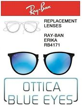 Lenti di Ricambio RAYBAN ERIKA RB4171 filtri Replacement Lenses Ray Ban BLUE 55