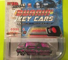 MAISTO FRESH METAL BURNIN' KEY CARS #15101 DIE CAST CAR LEADFOOT MOSC SEALED