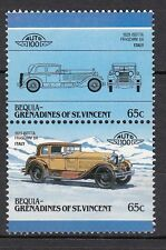 H136) Timbres Neufs MNH (Isotta Fraschini 8A) BEQUIA-GRENADINES/CARS-AUTOMOBILES