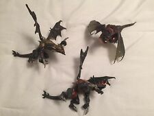 Mega Bloks dragon Lot Of Three
