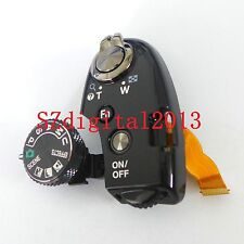 Function Dial Model Shutter Button For Nikon P520 P530 Top Switch Cover Black