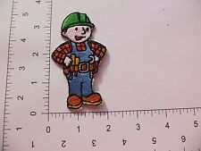 EMBROIDERED Disney Bob the Builder #273 Iron On / Sew On Patch Party Bag