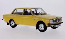 wonderful modelcar VOLVO 144 SALOON 1967 - yellow - scale 1/18