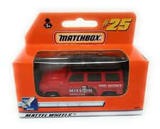 Matchbox 2000 No 25 Mercedes Benz Space Int. Version german box MBX Superfast