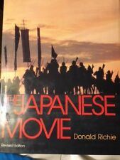 "RICHIE: ""THE JAPAPNESE MOVIE:AN ILLUSTRATED HISTORY""-1982 REVISED OOP HARDCOVER"